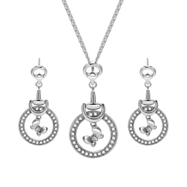 Ericdress Diamante Pendant Jewelry Set for Women