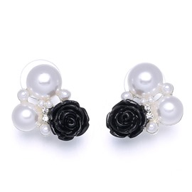 Ericdress All Match Imitation Pearl Earring