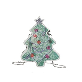 Ericdress Christmas Tree Design Crossbody Bag