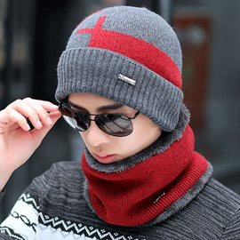 Ericdress Warm Knitting Hat&Scarf for Men
