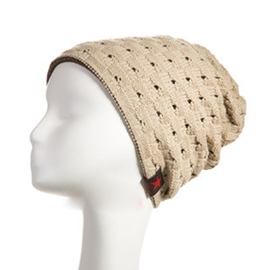 Ericdress Trendy Knitting Hollow Out Hat for Men
