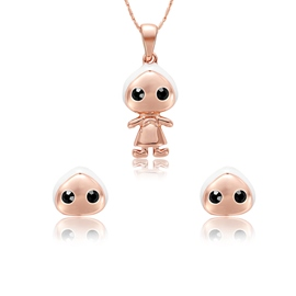 Ericdress Cute Doll Pendant Jewelry Set