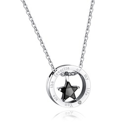 Ericdress Titanium Steel Pendant Necklace for Women