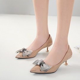 Ericdress Bowknot Decorated Pointed Toe Women's Pumps