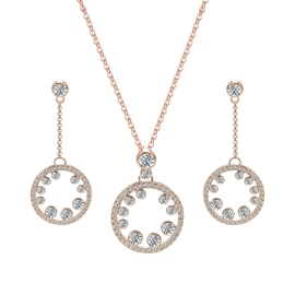 Ericdress Fully-Jewelled Two-Piece Jewelry Set