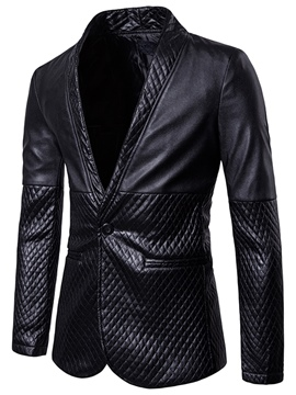 Ericdress Notched Lapel Fit Men's Casual Blazer