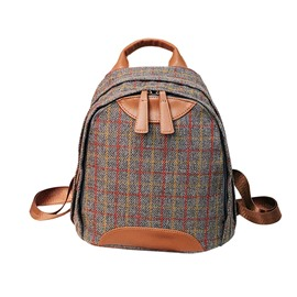 Ericdress Colorful Plaid Women Backpack
