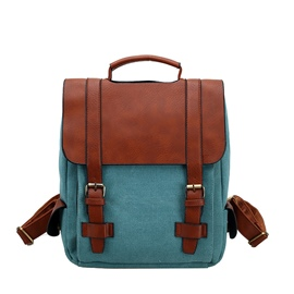 Ericdress Preppy Chic Color Block Women Backpack