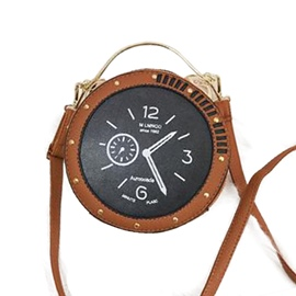 Ericdress Distinctive Clock Design Crossbody Bag