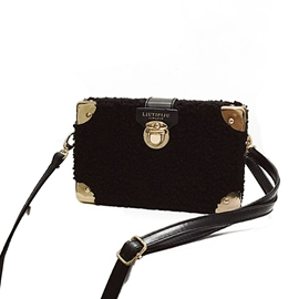 Ericdress Casual Plush Women Crossbody Bag