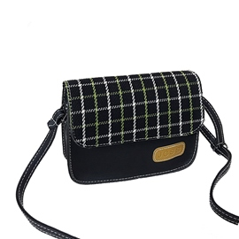 Ericdress Casual Plaid Women Crossbody Bag