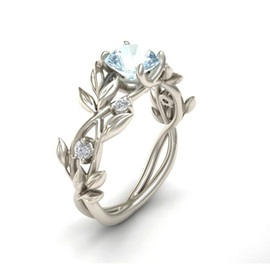 Ericdress Branch Diamante Ring