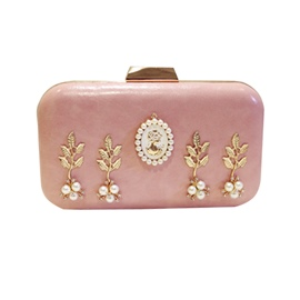 Ericdress Concise Rhinestone Decoration Clutch