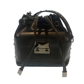 Ericdress Bucket Shape Rivet Decoration Mini Crossbody Bag
