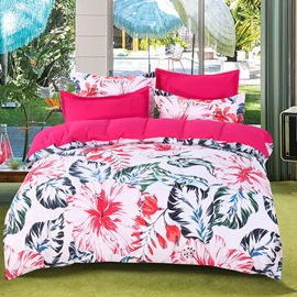 Cotton Hand Wash Duvet Cover Set Four-Piece Bed Set