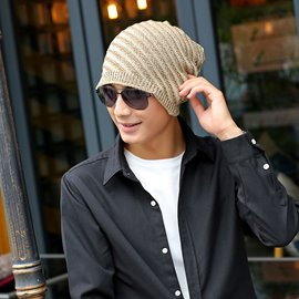 2e5ad1aafd5 Ericdress Letter Printed Outdoor Knitting Men s Hat 13102995 ...