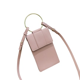 Ericdress Casual Circular Ring Mini Corssbody Bag