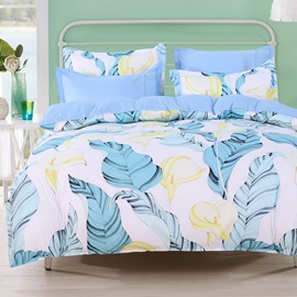 Cotton Duvet Cover Set Four-Piece Bedding Set Machine Wash