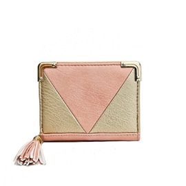 Casual Patchwork Women Wallet