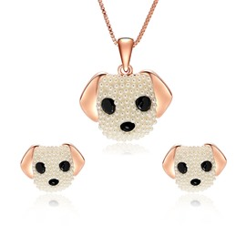 Ericdress Funny Puppy Pendant Women's Jewelry Set
