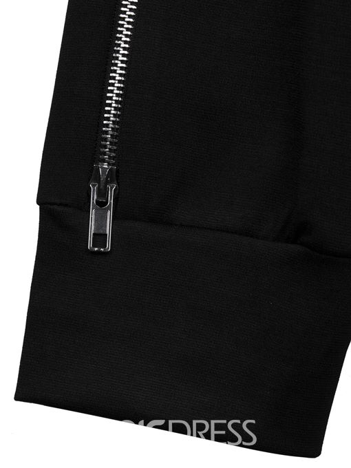 Slim Full Length Side Zipper Women's Pants