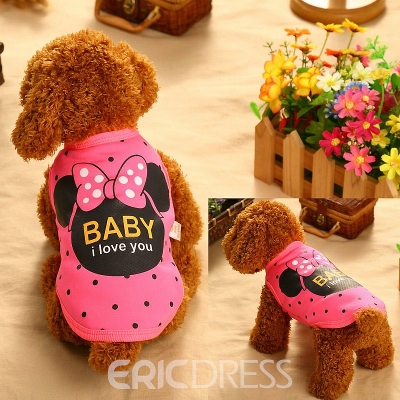 Ericdress Creative Cartoon Printed Winter&Autumn Cute Clothing for Pet