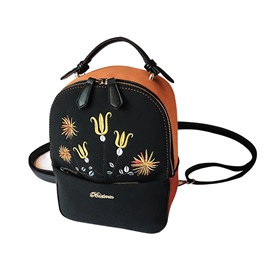 Ericdress Ethnic Style Embroidery Matting Backpack