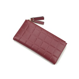 Ericdress Korean Style Quilted Lining Solid Color Wallet