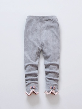 Ericdress Lovely Bowknot Tassel Girl's Legging