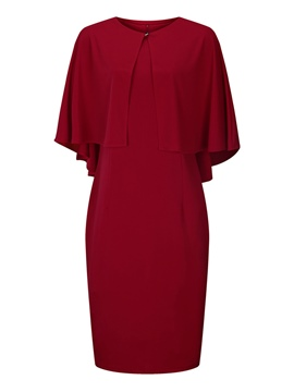 ericdress cape et bodycon robe costume de femme