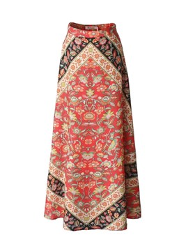 Ericdress Holiday Ankle-Length Print Women's Skirt