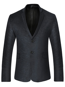 Ericdress Fit Wedding Long Sleeve Men's Blazer