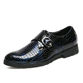 Ericdress Buckle Round Toe Slip-On Men's Oxfords