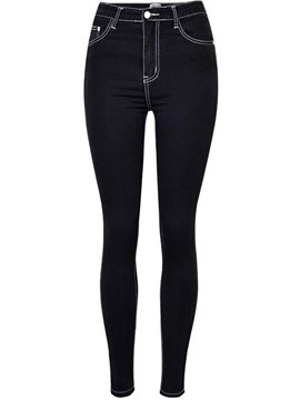 Ericdress Skinny Stretchy Women's Jeans