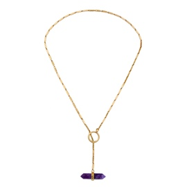 Ericdress All Match Ultra Violet Pendant Necklace for Women