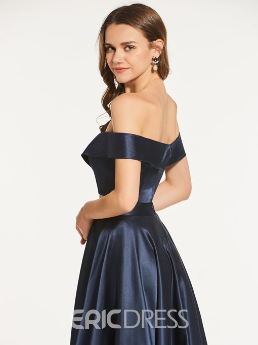 Ericdress A Line Two Pieces Off The Shoulder Prom Dress