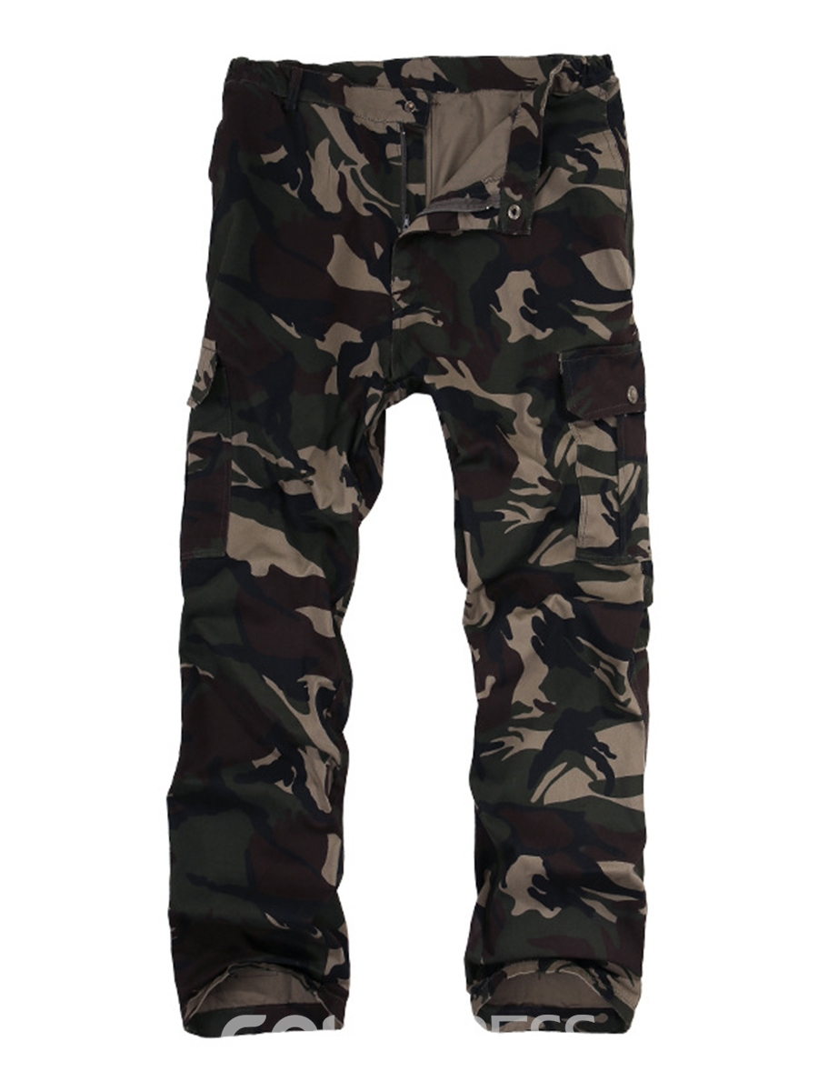 Ericdress Camouflage Pants Mens Outfit