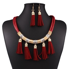 Ericdress All Match Tassel Women's Jewelry Set