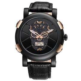 Ericdress Skull Plate Men's Watch