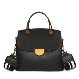 Ericdress Color Block Wide Strap Crossbody Bag