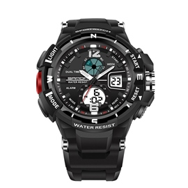 Ericdress JYY Multifunctional Outdoor LED Electronical Watch for Men