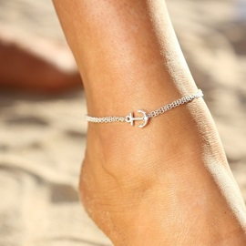 Ericdress Exquisite Anchor Beach Anklet For Women