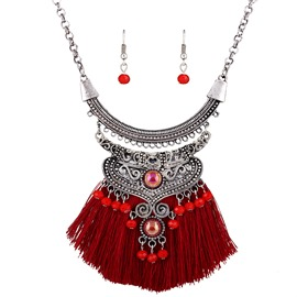 Ericdress Vintage Bohemia Style Tassel Jewelry Set for Women
