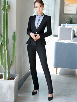 Ericdress Jacket and Pants Women's Formal Suit