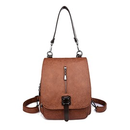 Ericdress Zipper Decoration Women Backpack