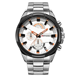 Ericdress JYY Three Small Plates Steel Strap Men's Watch