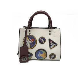 Ericdress Badge Decoration Women Handbag