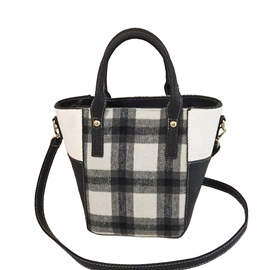 Ericdress Classical Plaid Women Handbag