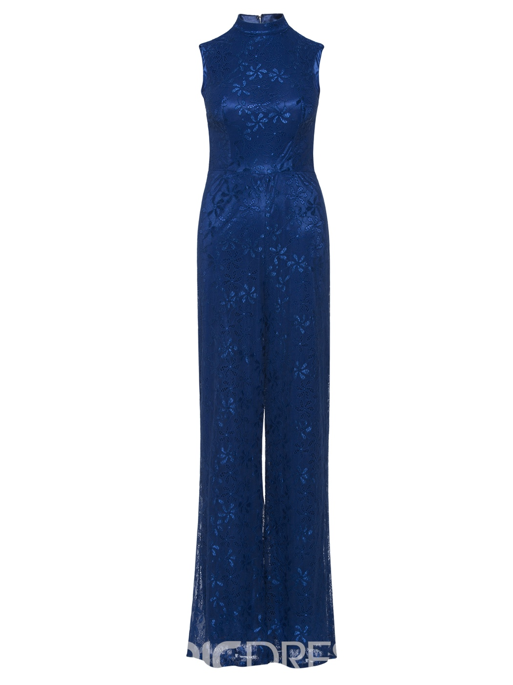 Ericdress High Neck Backless Lace Prom Jumpsuit