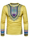 Ericdress Dashiki Ethnic Scoop Loose Men's Casual T Shirt